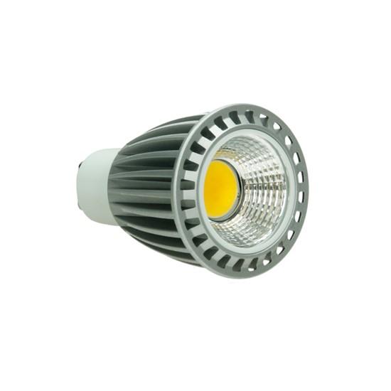 led reflektor spot gu10 9 watt ausf cob warmwei dimmbar. Black Bedroom Furniture Sets. Home Design Ideas
