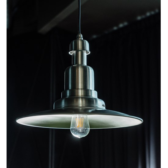 LED-Lampe Birne / Kolben Filament Warmweiß E27 4W