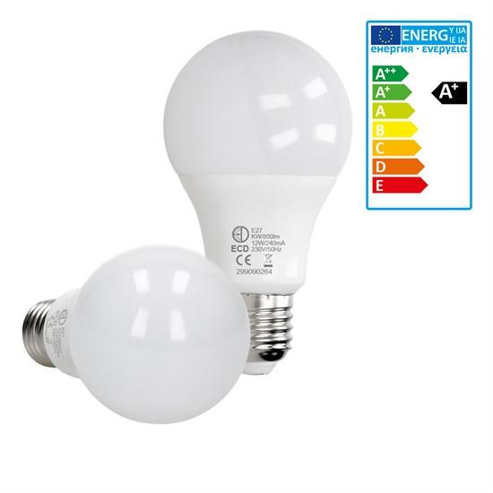 LED Birne E27 Kaltweiß 12 Watt