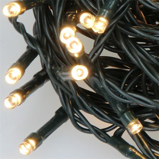LED-Lichterkette 24 m, Warmweiß, 240 LEDs