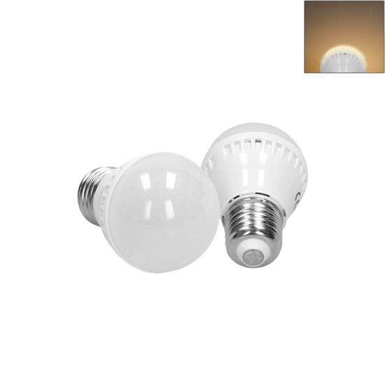 LED-Birne E27, Warmweiß, 3W