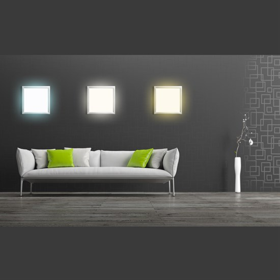 LED-Panel 62x62 cm, Warmweiß, 36W