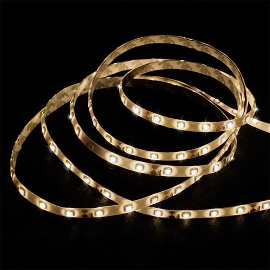 LED-Streifen Set 1 m, Warmweiß, wasserfest - 60 LED pro Meter inkl. Netzteil