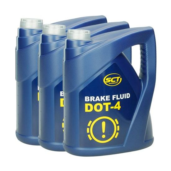 3 x SCT Bremsflüssigkeit DOT4 5 kg/ DP88945