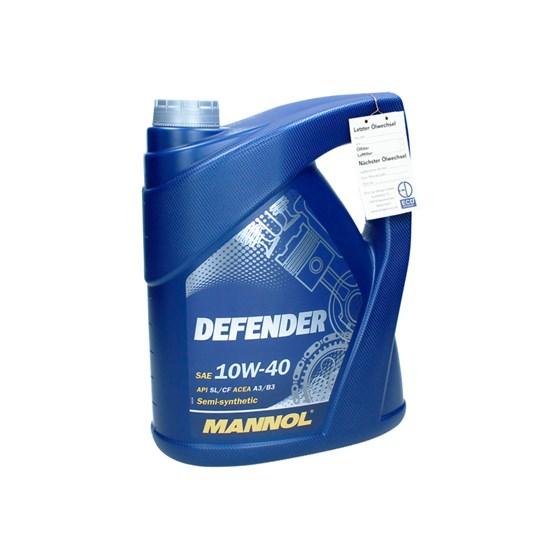 5 l Liter Motoröl 10W40 Defender mit etikett