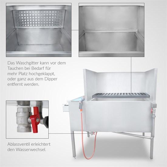 Wassertransferdruck All in One Dipper | 100 x 80 cm