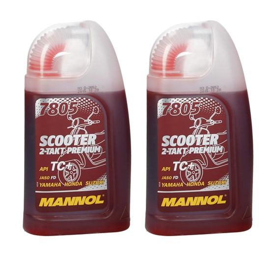 2 x 1 Liter SCOOTER PREMIUM 7805