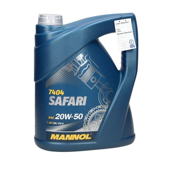 MN7404-5 / Mannol Safari 20W-50 5 Liter Bestand