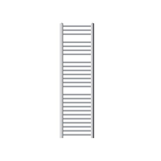 Badheizkörper Sahara 400x1500 mm chrom mit Seitenanschluss