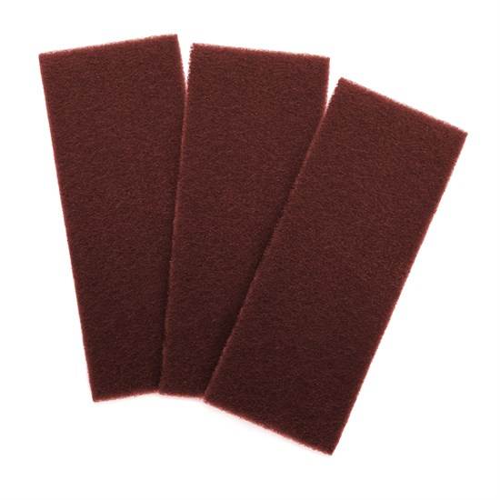 Schleifvlies Pad Rot | Sehr fein