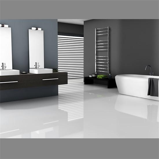 """Design-Heizkörper """"Towel Rail"""" gerade mit Außenanschluss Chrome 500 x 1400 mm"""