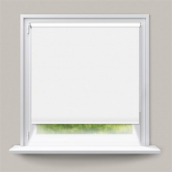 Verdunkelungsrollo Klemmfix Weiß 45 x 150 cm