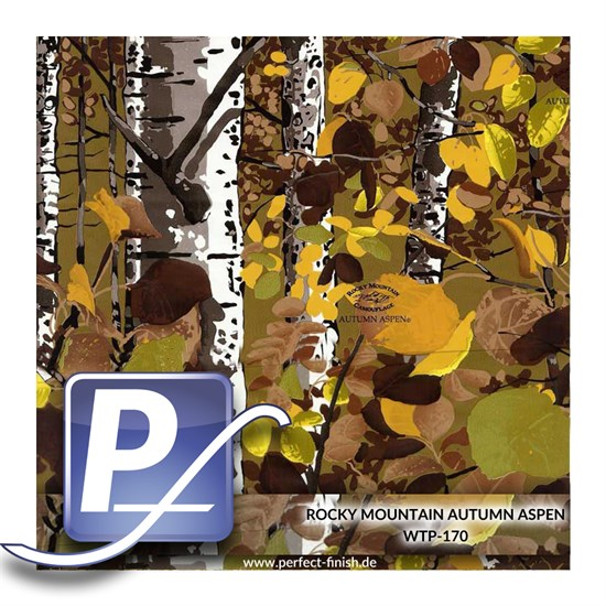 Wassertransferdruck Film WTP-170 | 60cm ROCKY MOUNTAIN AUTUMN ASPEN