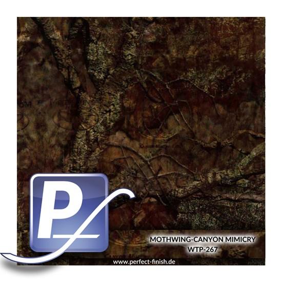 Wassertransferdruck Film WTP-267   50cm MOTHWING-CANYON MIMICRY