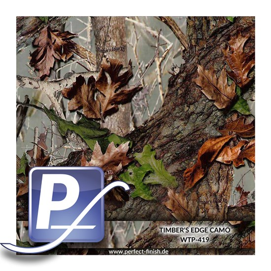 Wassertransferdruck Film WTP-419 | 100cm TIMBER´S EDGE CAMO