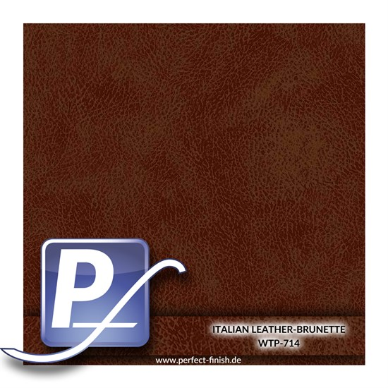 Wassertransferdruck Film WTP-714 | 100cm ITALIAN LEATHER-BRUNETTE