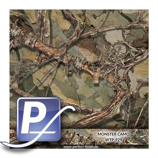 Wassertransferdruck Film WTP-929 | 100cm MONSTER CAMO
