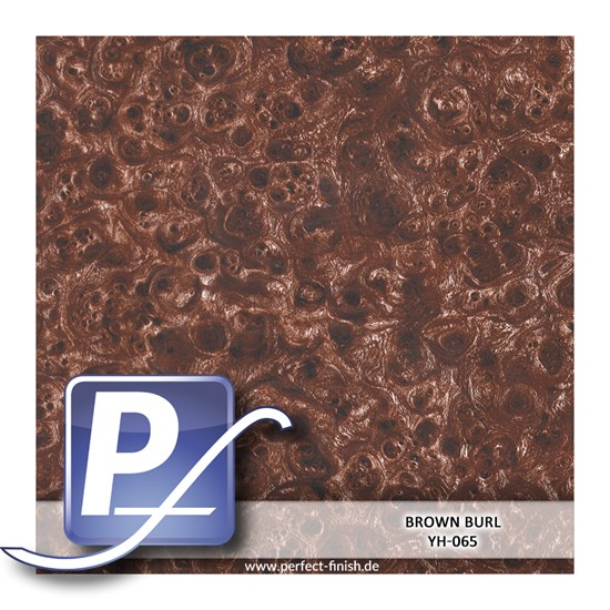 Wassertransferdruck Film YH-065 | 50cm BROWN BURL