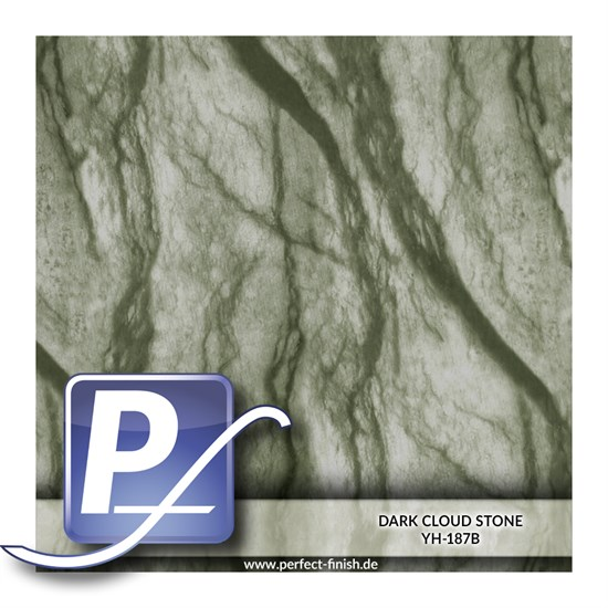 Wassertransferdruck Film YH-187B | 60cm DARK CLOUD STONE