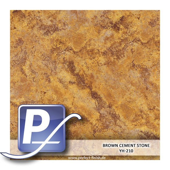 Wassertransferdruck Film YH-210 | 60cm BROWN CEMENT STONE