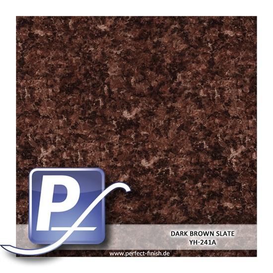 Wassertransferdruck Film YH-241A | 60cm DARK BROWN SLATE