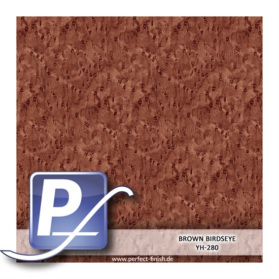 Wassertransferdruck Film YH-280 | 50cm BROWN BIRDSEYE