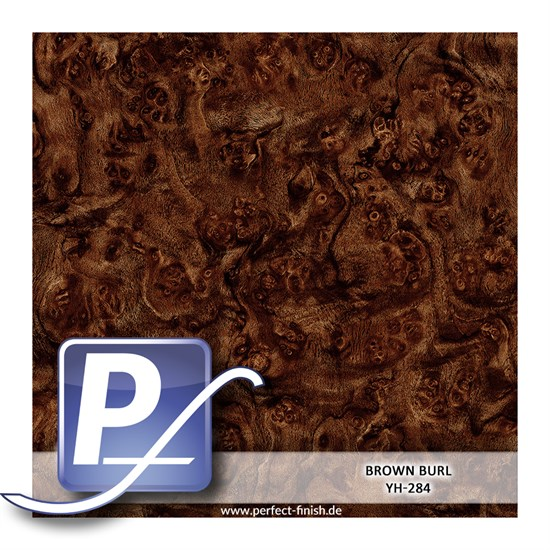 Wassertransferdruck Film YH-284 | 60cm BROWN BURL