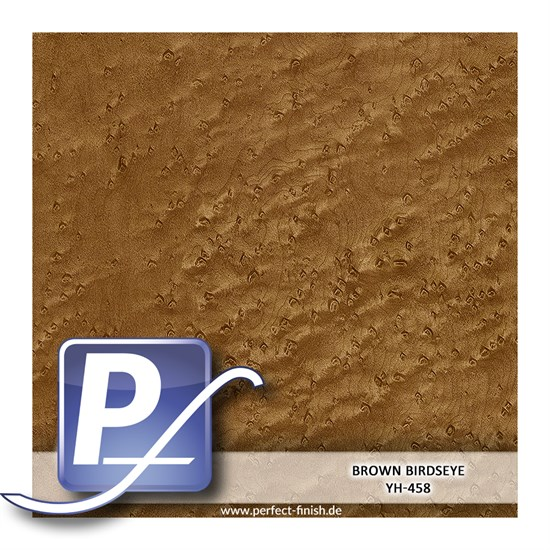 Wassertransferdruck Film YH-458 | 100cm BROWN BIRDSEYE
