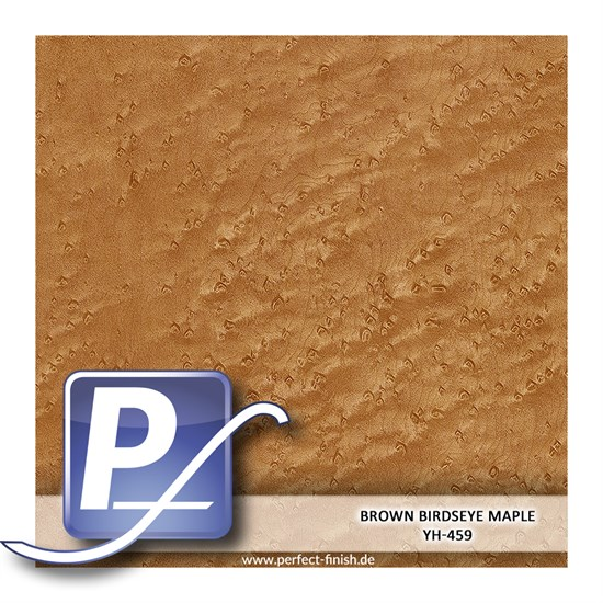 Wassertransferdruck Film YH-459 | 100cm BROWN BIRDSEYE MAPLE