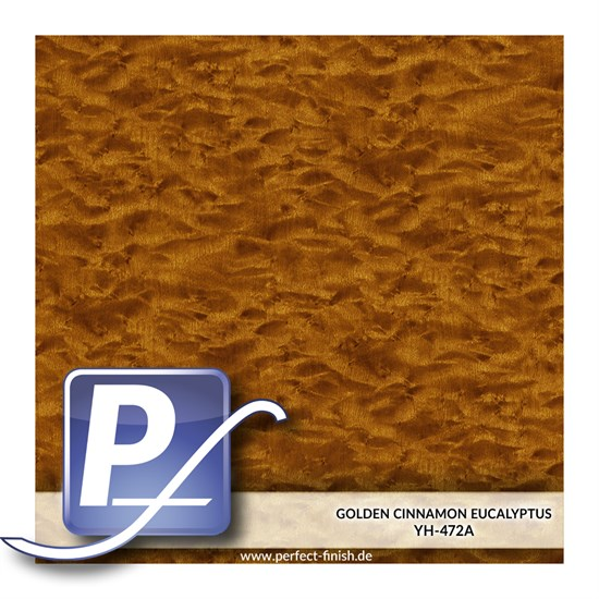Wassertransferdruck Film YH-472A | 60cm GOLDEN CINNAMON EUCALYPTUS