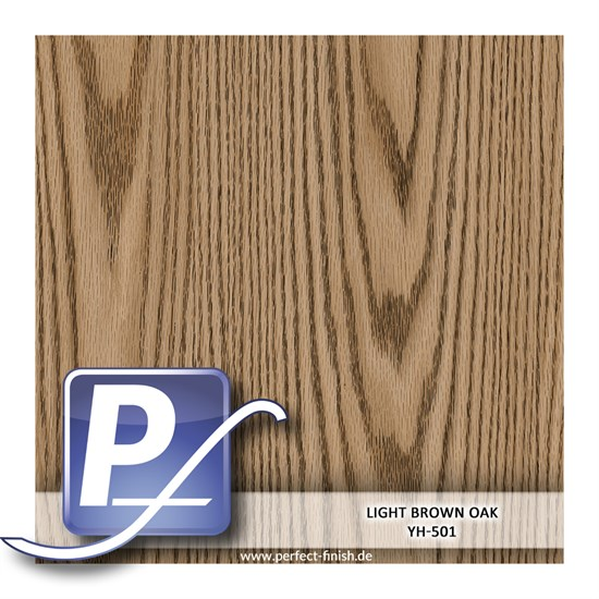 Wassertransferdruck Film YH-501 | 100cm LIGHT BROWN OAK