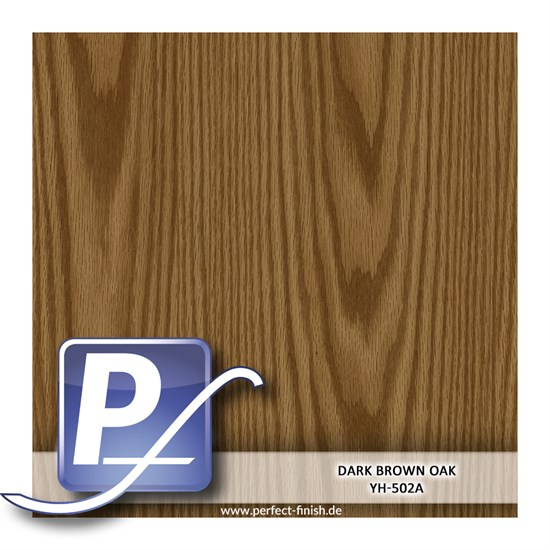 Wassertransferdruck Film YH-502A | 100cm DARK BROWN OAK