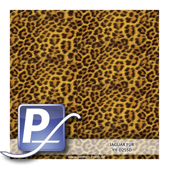 Wassertransferdruck Film YH-D255D | 100cm JAGUAR FUR