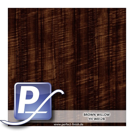 Wassertransferdruck Film YH-W012B | 60cm BROWN WILLOW