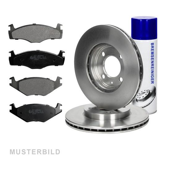 Bremsscheiben + Bremsbeläge innen vorne Ford