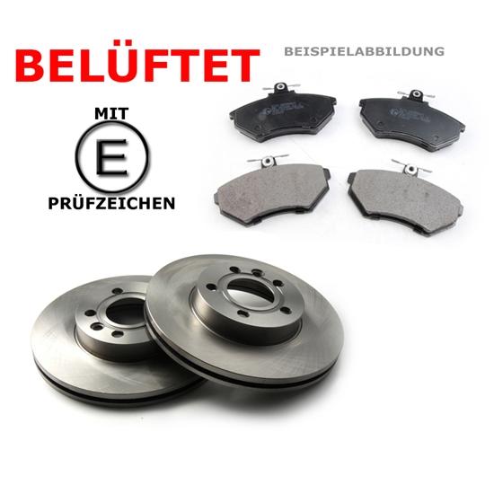 Bremsscheiben + Bremsbeläge innen Opel