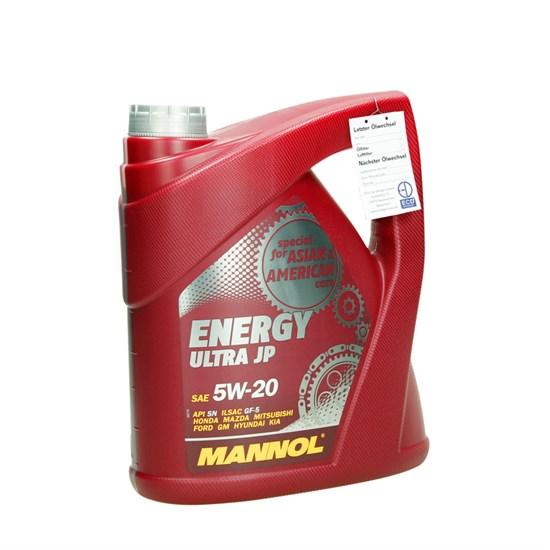 MANNOL Energy Ultra JP SAE 5W-20