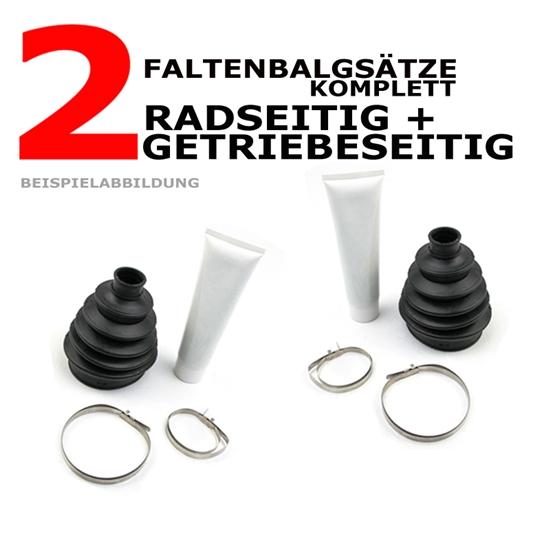 Faltenbalgsatz radseitig + getriebeseitig Fiat