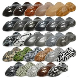 Car Shape Set 29 Different decors