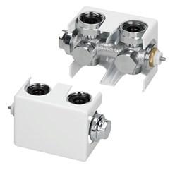 Universal Anschluss Thermostat Weiß