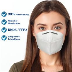 10x Atemschutzmaske Feinstaubmaske FFP2
