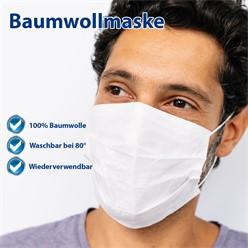 10x Mundschutzmaske Baumwollmasken