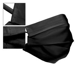 10x Mundschutzmaske Baumwollmasken Schwarz