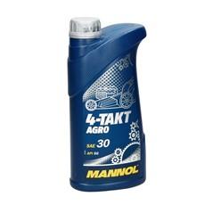 Mannol Viertakt-Motoröl 4-Takt Agro SAE 30 1 L
