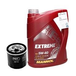 Ölfilter Asta Motors Ford Hyundai Kia Mazda Nissan Renault Subaru Suzuki + Mannol Extreme 5W40 5L