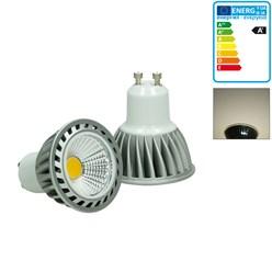 LED-Spot GU10 COB, Neutralweiß, 4W, dimmbar