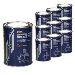 10x MANNOL EP-2 Multi-MoS2 Grease 8107 800g