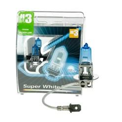 Glühlampe H3 55 W Super White 2 Stück