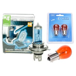 Blinkerbirnen orange und Halogen Bulb H4