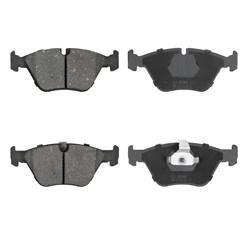 Bremsbelägsatz 8-Teilig vorne + hinten mit Bremsenreiniger 450ml BMW